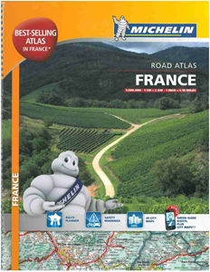 Picture of Michelin France Tourist & Motoring Atlas