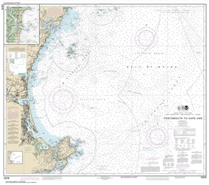 Picture of 13278 - Portsmouth To Cape Ann Nautical Chart