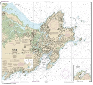 Picture of 13279 - Ipswich Bay To Gloucester Harbor Nautical Chart
