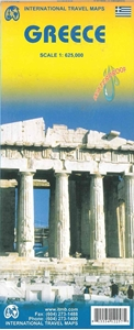 Picture of International Travel Maps - Greece