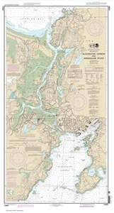 Picture of 13281 - Gloucester Harbor And Annisquam River Nautical Chart