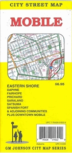 Picture of Mobile, AL street map