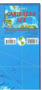 Picture of Franko's Caribbean Sea Guide Map