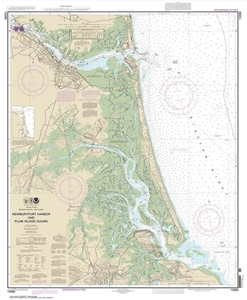 Picture of 13282 - Newburyport Harbor And Plum Island Sound Nautical Chart