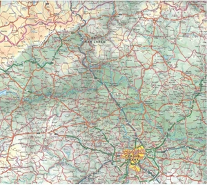 Picture of International Travel Maps - Czech Republic