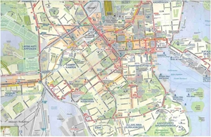 Picture of International Travel Maps - Helsinki & Finland South Travel Map