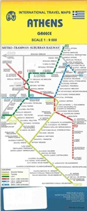 Picture of International Travel Maps - Athens