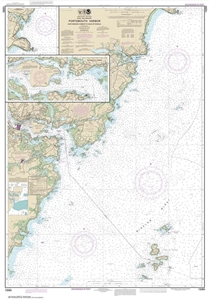 Picture of 13283 - Portsmouth Harbor - Cape Neddick Harbor To Isles of Shoals Nautical Chart