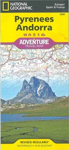Picture of National Geographic - Pyrenees, Andorra Adventure Map