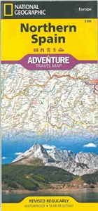 Picture of National Geographic - Northern Spain Adventure Map