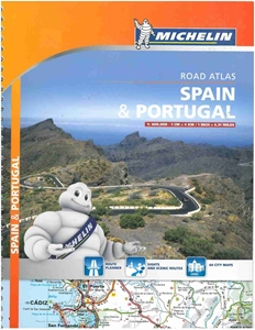 Picture of Michelin - Spain & Portugal Tourist and Motoring Atlas