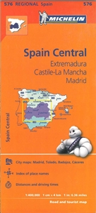 Picture of Michelin - Spain Central - Extremadura , Castile-La Mancha , Madrid (576)