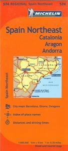Picture of Michelin - Spain Northeast - Catalonia , Aragon , Andorra (574)