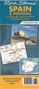 Picture of Rick Steves Spain & Portugal Planning Map