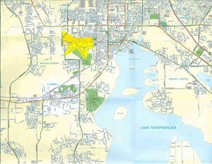 St Cloud Florida Map.Themapstore Kissimmee St Cloud Florida Street Map
