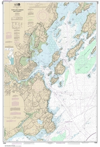 Picture of 13292 - Portland Harbor And Vicinity Nautical Chart