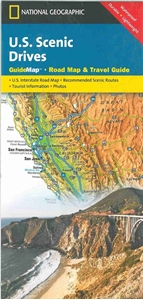 Picture of US Scenic Drives Guide Map