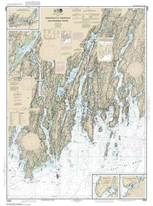 Picture of 13293 - Damariscotta, Sheepscot And Kennebec Rivers Nautical Chart