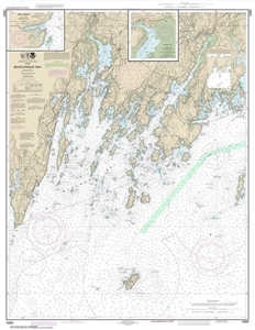 Picture of 13301 - Muscongus Bay Nautical Chart