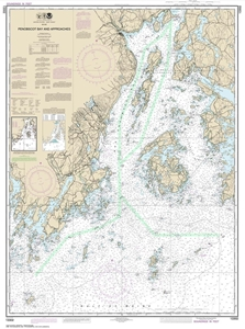 Picture of 13302 - Penobscot Bay And Approaches Nautical Chart