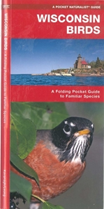 Picture of Wisconsin Birds folding pocket guide
