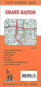 Picture of Grand Rapids, Michigan City Street Map