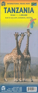 Picture of International Travel Maps - Tanzania