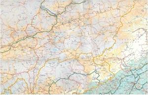 Picture of International Travel Maps - Himalaya