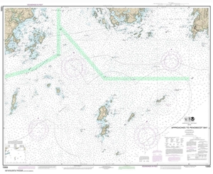 Picture of 13303 - Approaches To Penobscot Bay Nautical Chart