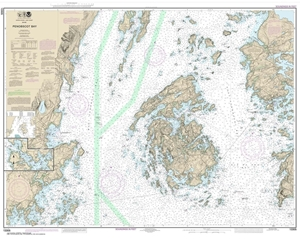 Picture of 13305 - Penobscot Bay Nautical Chart