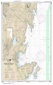 Picture of 13307 - Camden Harbor, Rockport Harbor And Rockland Harbor Nautical Chart