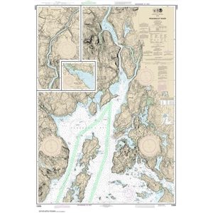 Picture of 13309 - Penobscot River Nautical Chart
