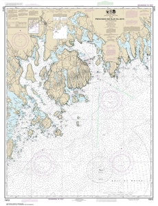 Picture of 13312 - Frenchman Bay And Blue Hill Bay And Approaches Nautical Chart