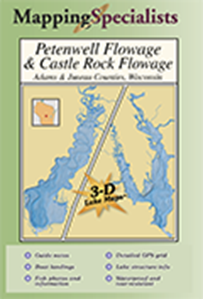 Picture of Petenwell Flowage & Castle Rock Flowage