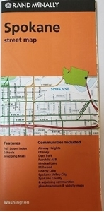 Picture of Spokane, WA street map