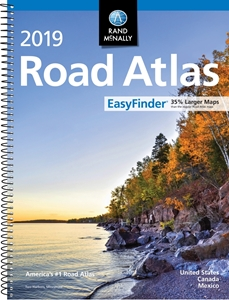 Picture of Rand McNally United States, Canada & Mexico Easy to Read Midsize Road Atlas