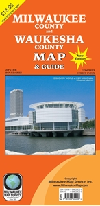 Picture of Milwaukee Cnty & Waukesha Cnty WI Map & Street Guide (2015 Edition)
