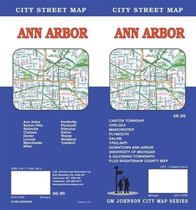 Picture of Ann Arbor, Michigan Street Map