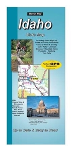 Picture of Idaho State Road Map