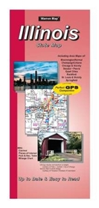 Picture of Illinois State Road Map